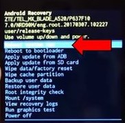 Lenovo Moto Z how to Hard reset