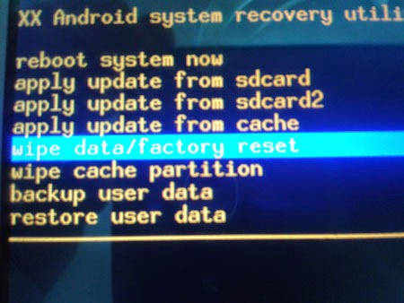 Archos 45 Helium how to Hard reset