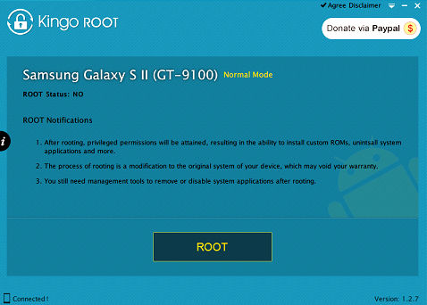 how to root ZTE Blade II